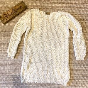 Katsumi Anthropologie oversized sweater cream